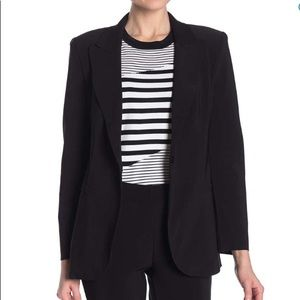 NWT T Tahari Black Notch Lapel  Blazer